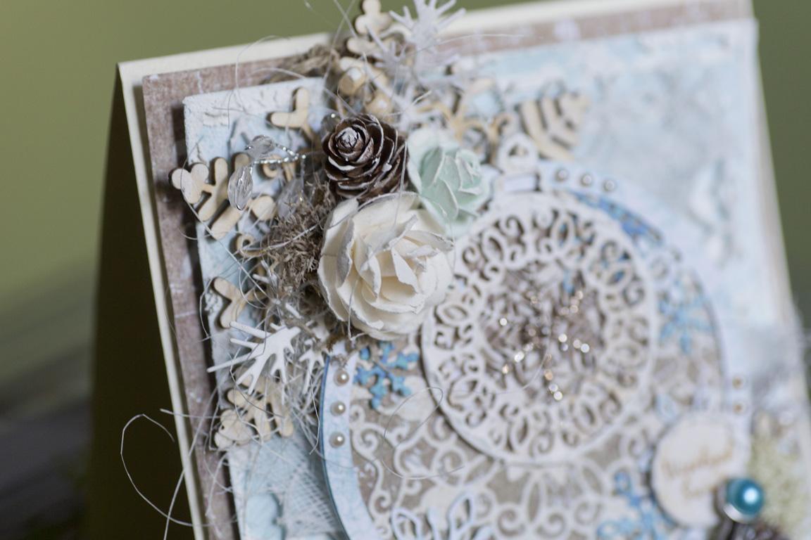 Relacja z warsztatów kartkowych – świąteczne kartki