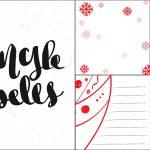 Karty świąteczne Project Life