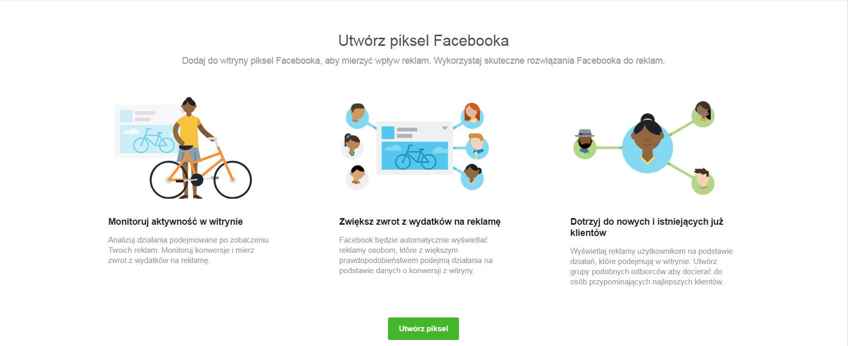 Piksel facebooka - krok 2