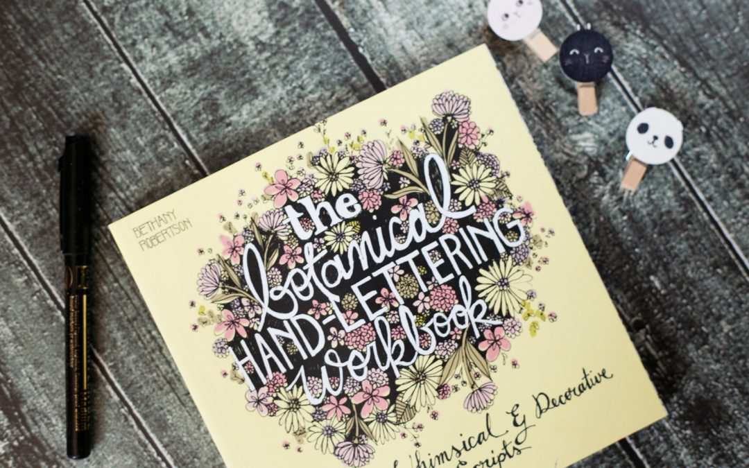 [recenzja] The botanical hand-lettering workbook