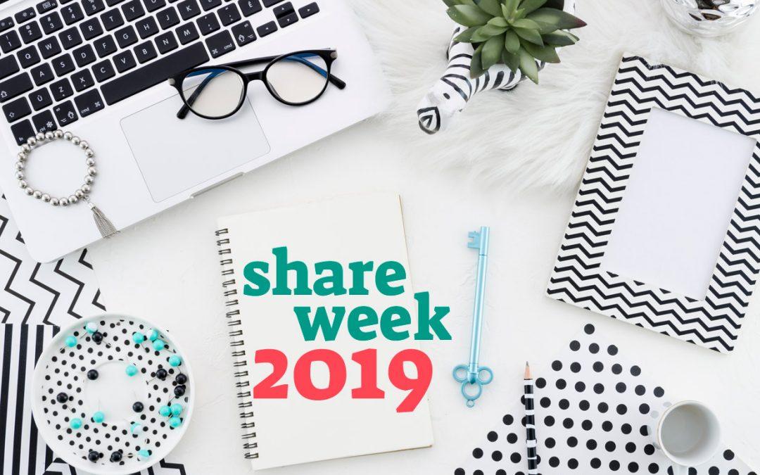 SHARE WEEK 2019, czyli moje ulubione miejsca w sieci