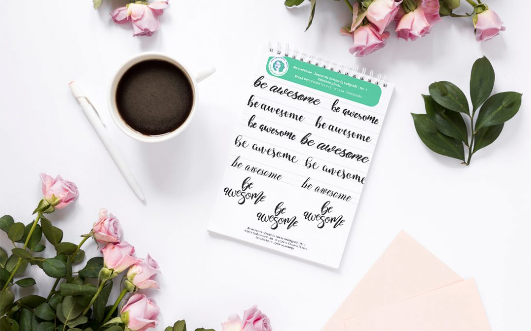 [lettering] Workbook do pobrania  – be awesome