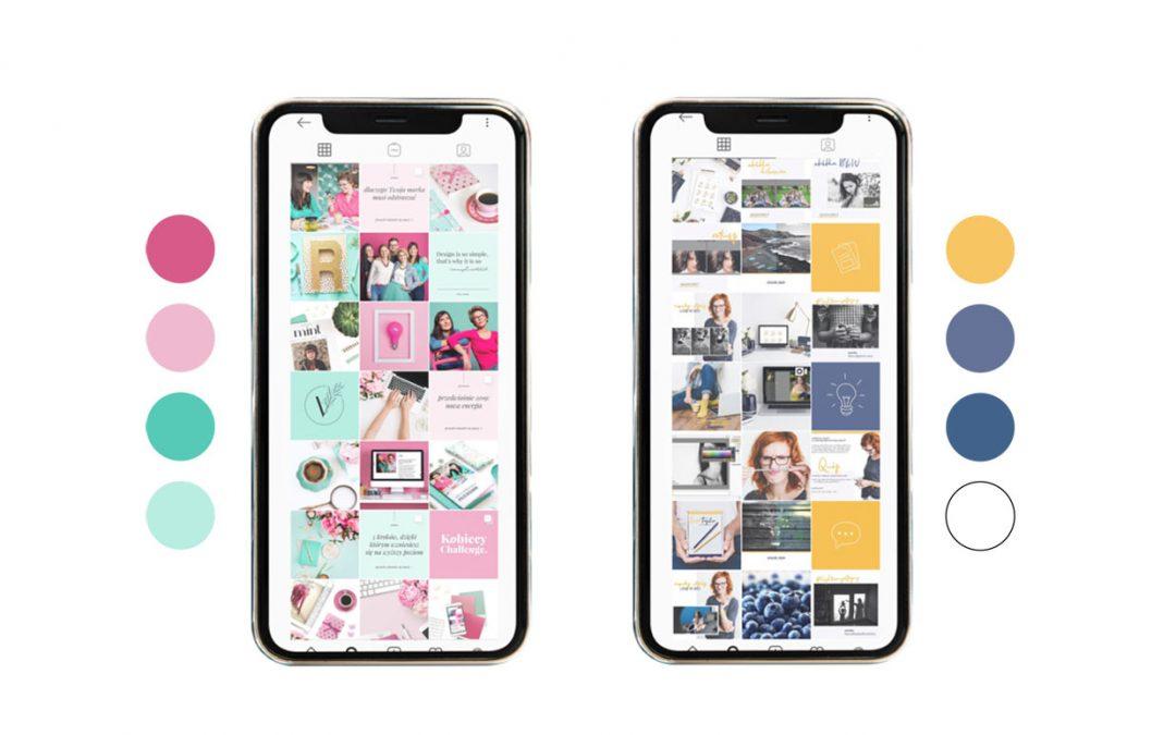 Jak schemat kolorów i mood board pomoże Twojej marce (na Instagramie i nie tylko)