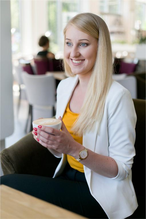 Sesja zdjęciowa Magdy w Kafejeto
