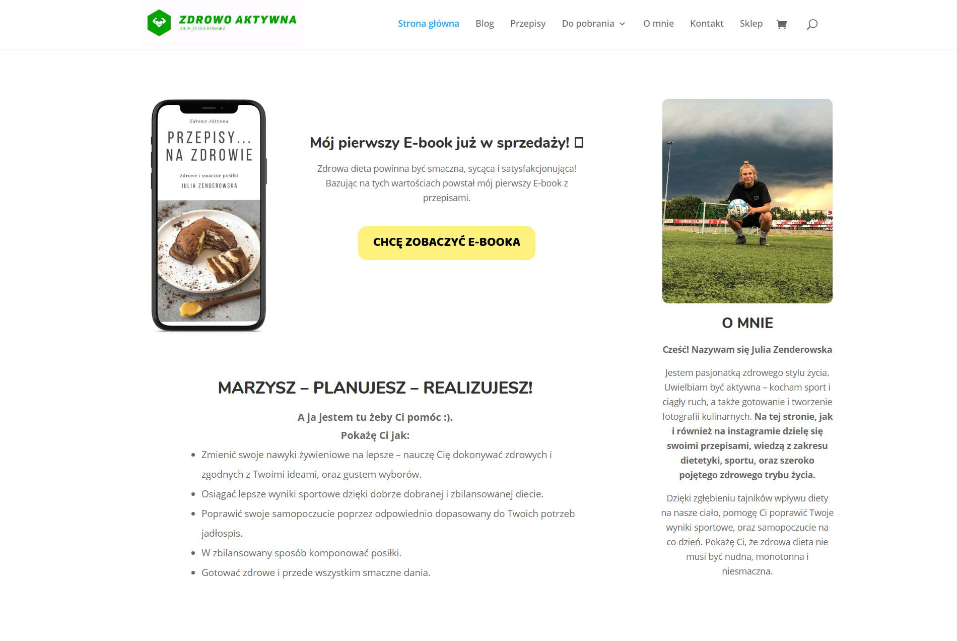 Zdrowo aktywna case study
