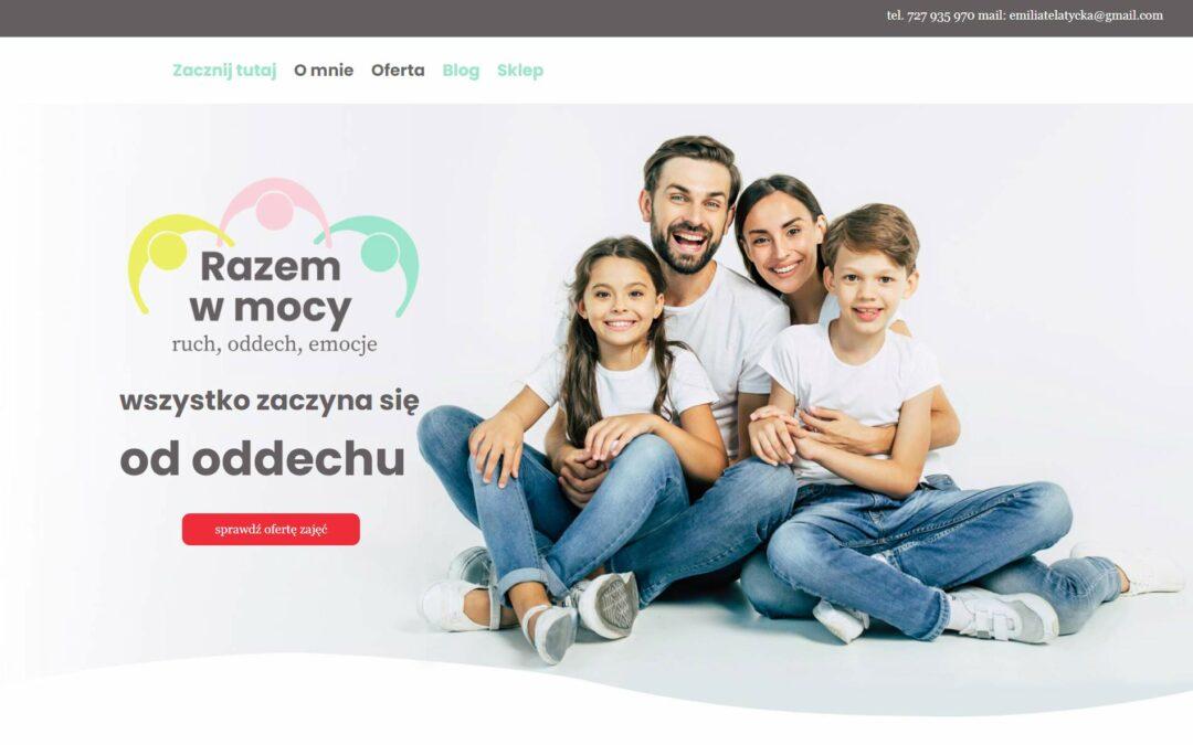 Strona dla Emilii Telatyckiej – case study